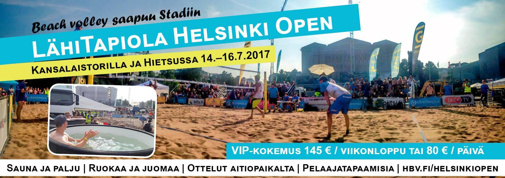Helsinki Open VIP V2